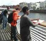 Observivng wildlife at the Liffey2